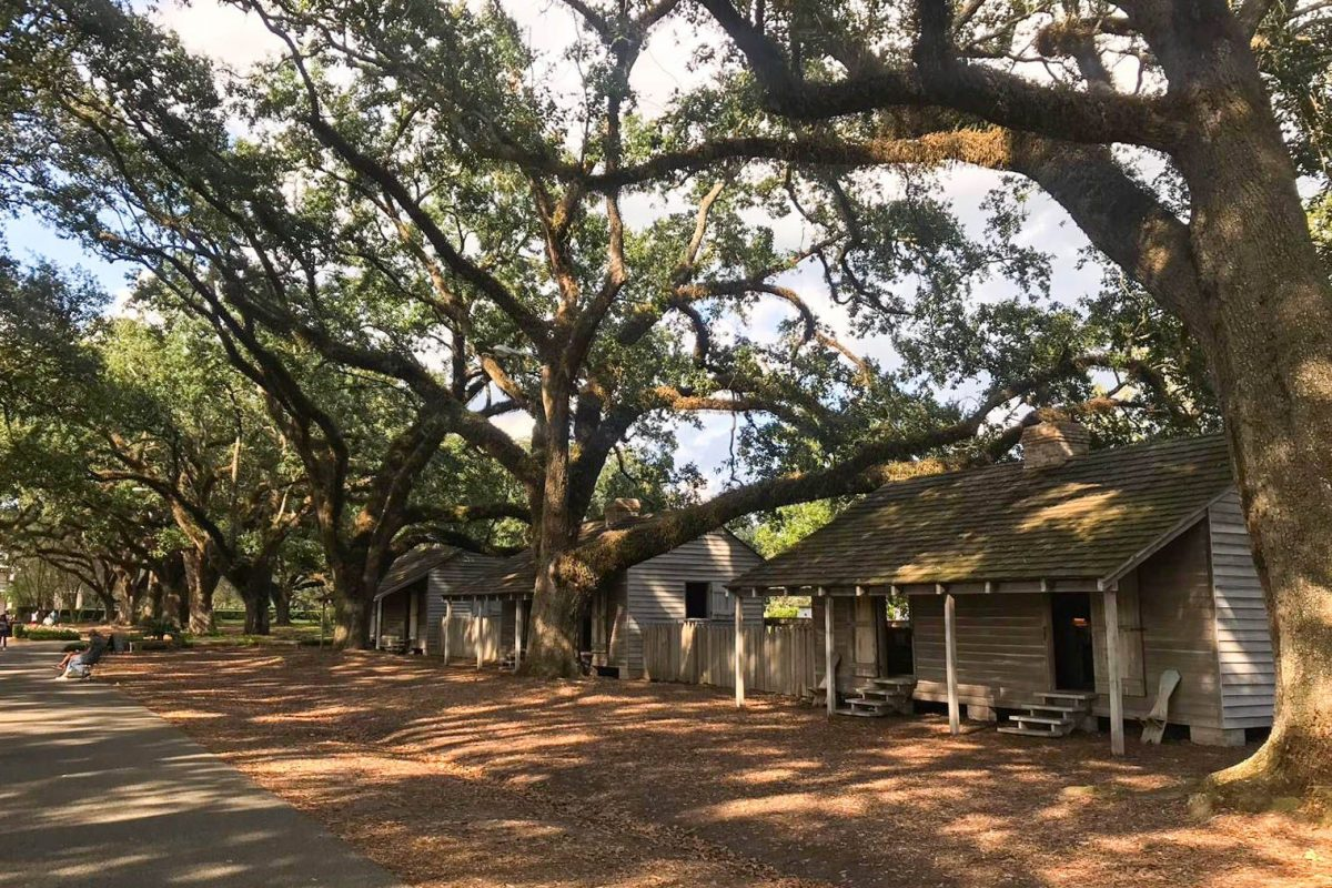old slave houses
